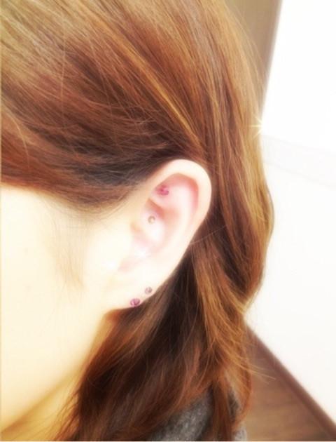 耳つぼジュエリー