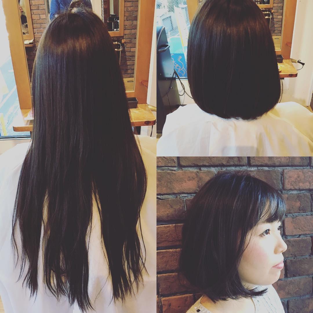 髪の毛寄付