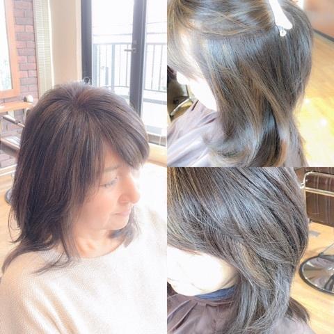 白髪カラー